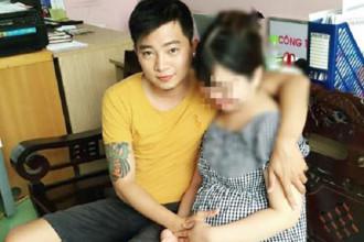 Cặp vợ chồng trẻ đang hạnh phúc chờ đón con đầu lòng chào đời.