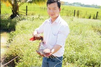 Nguyễn Trung Hiếu, một trong những công dân trẻ tiêu biểu của thành phố năm 2016.