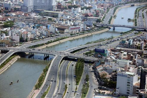 Một góc kênh Nhiêu Lộc Thị Nghè - Ảnh: Độc Lập
