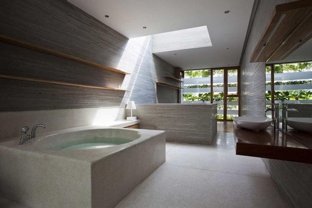 Đơn giản, thanh lịch và tươi mát là những gì chúng ta có thể thấy trong ngôi nhà này.