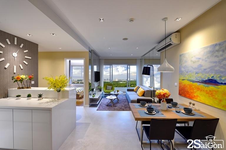Mỗi căn hộ Dragon Hill Residence and Suites 2 đều có 2 -3 mặt thông thoáng để không gian luôn tràn ngập ánh sáng và gió trời tự nhiên