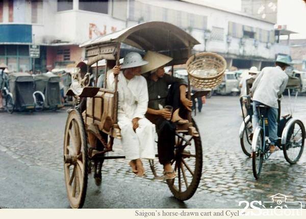 Ba mươi năm trở về trước, vùng chợ Bà Quẹo vẫn còn những chiếc xe thổ mộ
