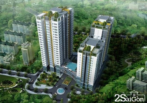 Hưng Phát Silver Star gồm 3 block có 24 tầng (trong đó có 5 tầng thương mại), với tổng cộng 447 căn hộ (diện tích từ 62 – 90 m2).