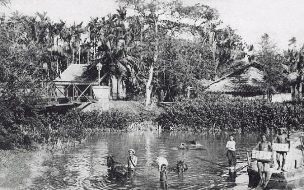Cầu Kho và những cư dân của nó khoảng năm 1900 - Ảnh tư liệu