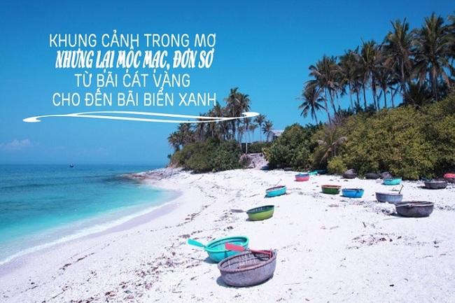 Đảo Điệp Sơn là nơi thích hợp cho các bạn trẻ thích du lịch bụi muốn trở về với không gian hoang sơ, yên bình với biển xanh, cát trắng.