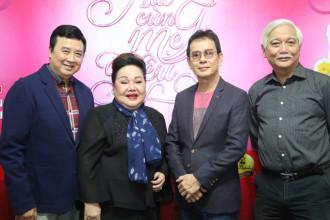 NSND Ngoc Giau - NSUT Bao Quoc - Nhac si Duc Huy - Nha su hoc Duong Trung Quoc