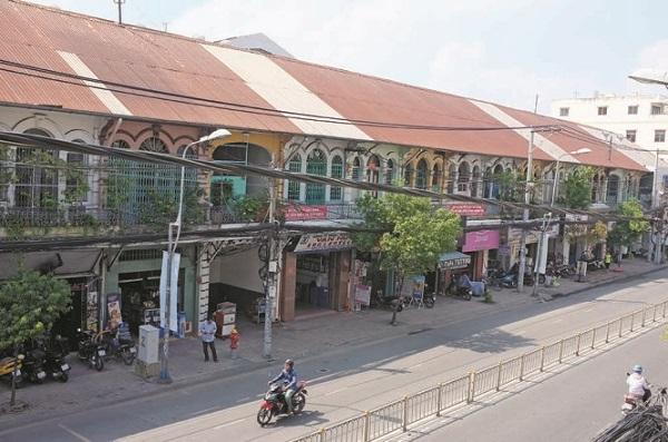 Hẻm Tô Châu ở số 47 đường Trần Hưng Đạo B, xưa là đường Đồng Khánh - Ảnh: HOÀI LINH