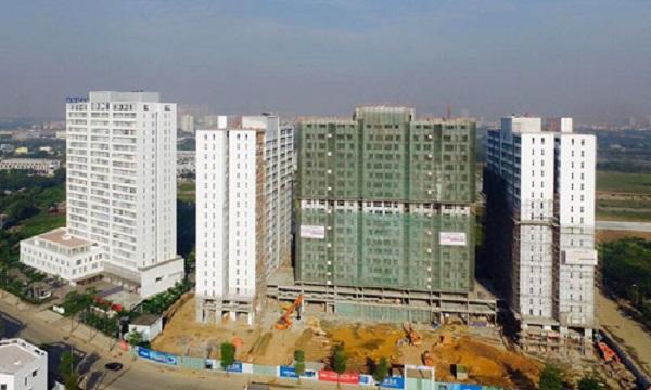 Chung cư giá rẻ được dự báo sẽ là sản phẩm dẫn dắt thị trường địa ốc năm 2017. Ảnh: Hao Bui