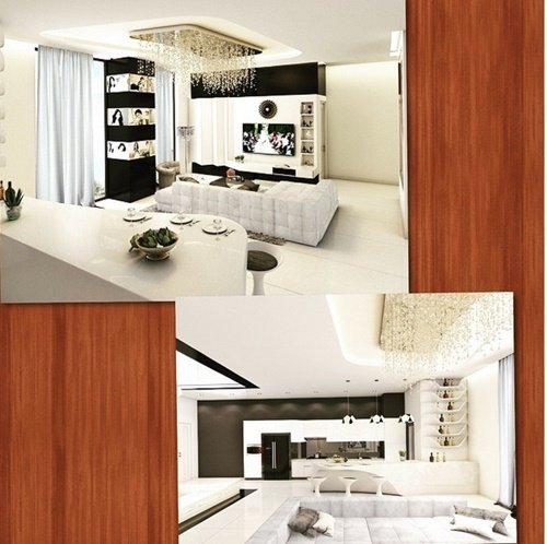Căn hộ của Ngọc Trinh rộng khoảng 200m vuông, có giá không dưới 20 tỷ đồng.