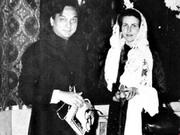 Tấm ảnh được cho là của cô Ba Trà chụp với Công tử Bạc Liêu Trần Trinh Huy.