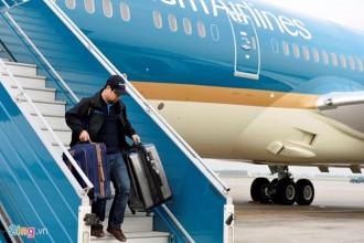 Hãng Vietjet (VJ) tăng 560 chuyến, Vietnam Airlines (VNA) tăng 340 chuyến và Jetstar Pacific (JPA) tăng 165 chuyến trong dịp Tết Đinh Dậu. Ảnh: Hoàng Hà.