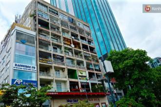 Các hàng quán phát triển mạnh tại chung cư 42 Nguyễn Huệ.