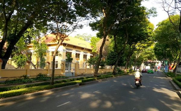 Đường Trương Định, TP.HCM lúc 8h03 mùng 2 Tết Đinh Dậu - Ảnh: G