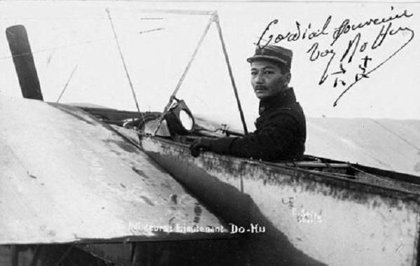 Đỗ Hữu Vị - phi công đầu tiên của Việt Nam - Ảnh tư liệu