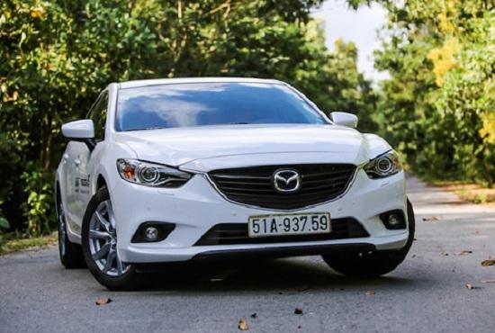 Mazda6 giảm giá sâu nhất. Ảnh: OS.