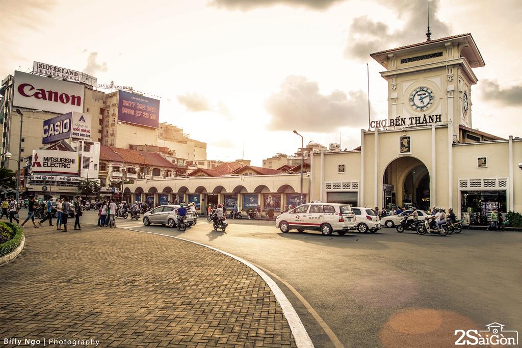 Chợ Bến Thành, điểm du lịch hấp dẫn của TP Hồ Chí Minh