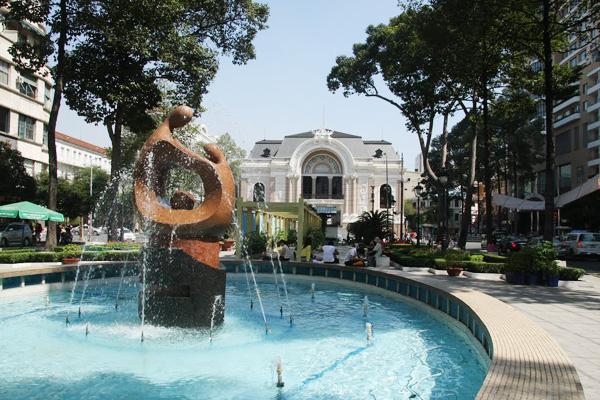 """Công viên Lam Sơn của vài tháng trước vẫn còn nhộn nhịp và """"hoành tráng"""" như thế này"""