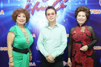 Giam khao chuong trinh Tuyet Loan - Duc Huy - Phuong Dung