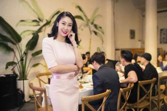 Ha Kieu Anh trong buoi tiec dem (1)