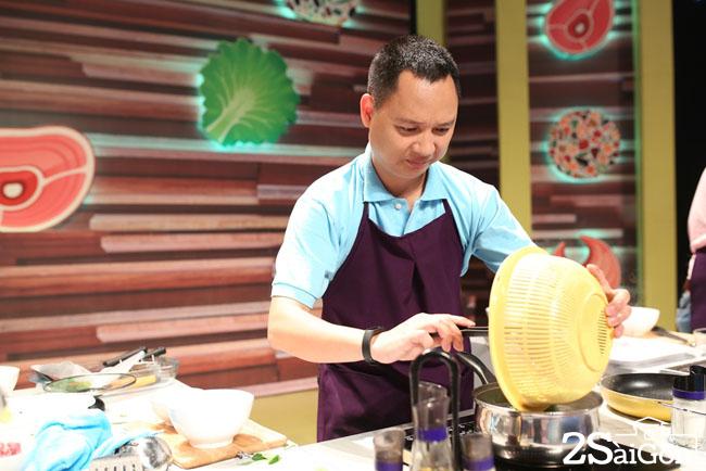 Nguyen Hai Phong vao bep