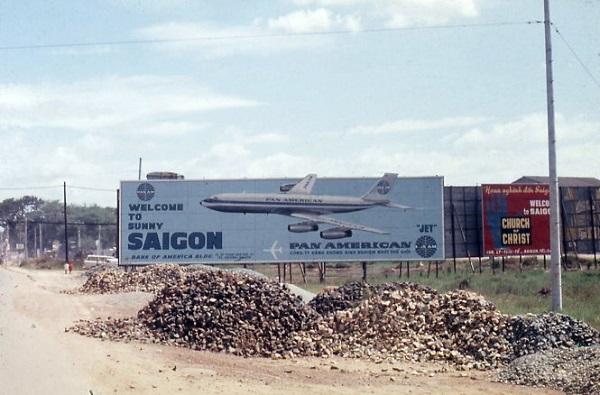 Vành đai phát triển phi trường Tân Sơn Nhất trước năm 1975 rất rộng - Ảnh tư liệu