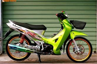 Có chung nền tảng khung, phuộc và động cơ với chiếc Future II 125 ở Việt Nam, tuy nhiên Honda Wave 125 có số lượng ít hơn nhiều tại nước ta. Tuy nhiên những chiếc Wave 125 thường được người chơi ưa chuộng để tạo thành các bản độ kiểng theo phong cách Thái Lan, tương tự chiếc xe trong bài viết này.