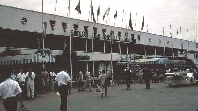 Phi trường Tân Sơn Nhất trước 1975 - Ảnh tư liệu