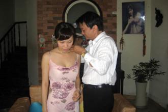 1. Hinh anh Duy Quang sang hoi cuoi Yen Xuan (1)