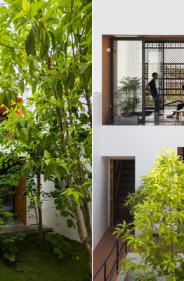 Dự án này là dạng nhà cho thuê, gồm 6 căn hộ nhỏ khép kín (chỉ có người lớn ở). Chủ nhà sống ở tầng một.