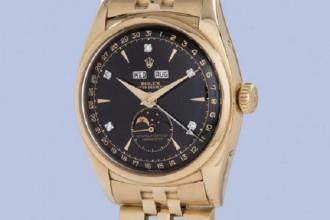"""Chiếc Rolex Reference 6062 có tên """"Bao Dai"""" kỳ vọng được trả giá hơn 1,5 triệu USD thông qua phiên đấu giá giữa tháng 5 tới."""