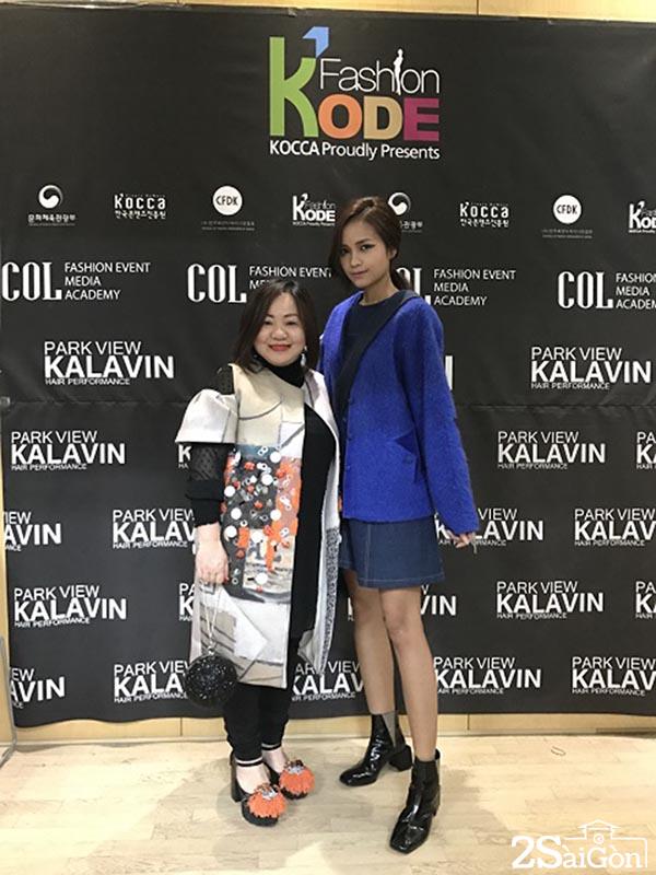 Ngoc Chau va ba Quynh Trang