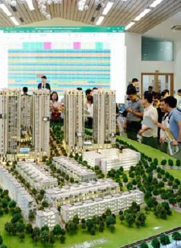 Một dự án căn hộ cao cấp tại khu trung tâm TP HCM đang mở bán công bố diện tích bãi giữ xe cực lớn. Ảnh: V.L