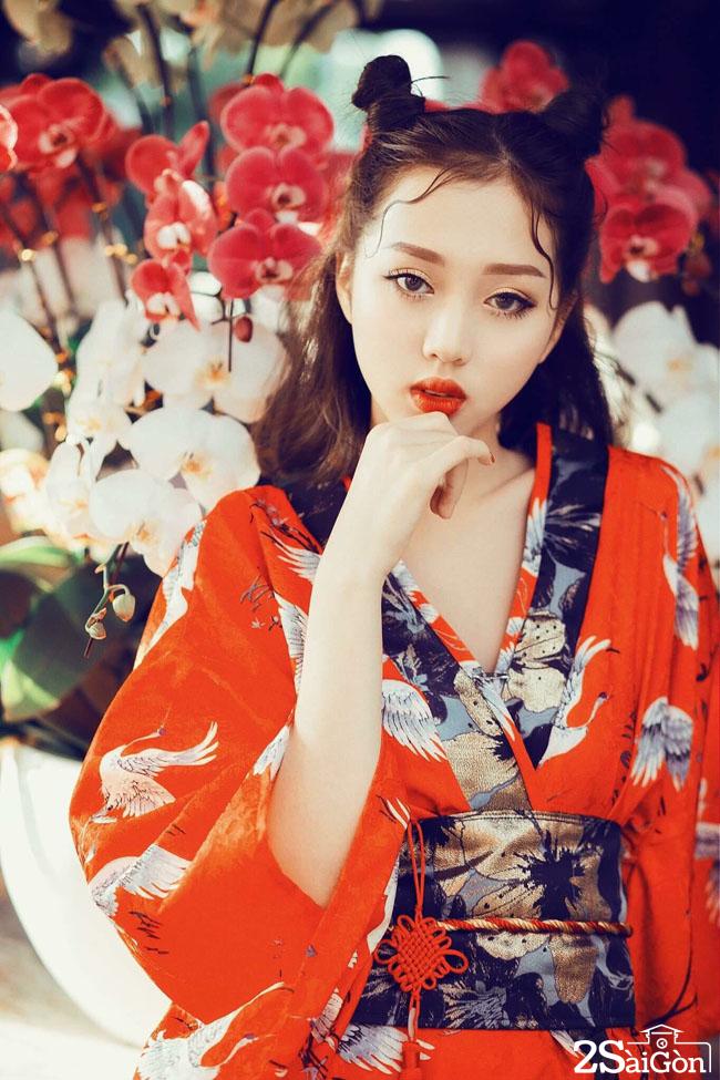 chi em song sinh cua tien nua cu ta lo tai dien vietnams next top model 2017 6