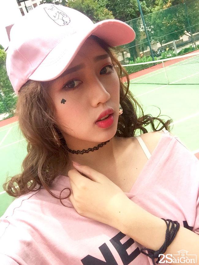 chi em song sinh cua tien nua cu ta lo tai dien vietnams next top model 2017 8