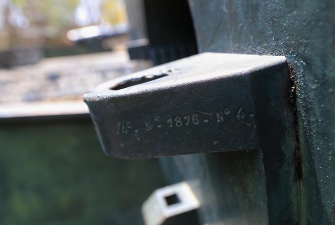Những đại pháo tại trận địa núi Lớn do người Pháp chế tạo từ năm 1872-1876. Mỗi khẩu pháo dài trên 4 m, nặng trên 15 tấn và có cỡ nòng 240 ly.