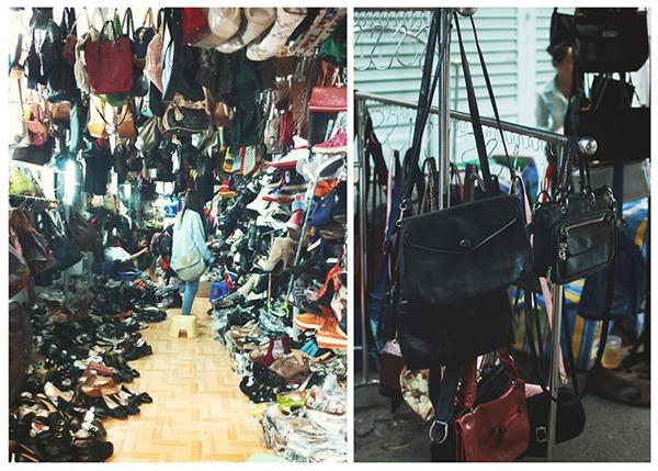 Góc phố đa dạng các loại quần áo, tha hồ chọn lựa. Nguồn tiin.vn