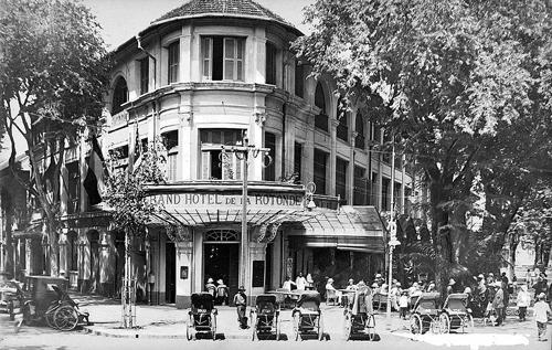 Một khách sạn trên đường Catinat những năm cuối thế kỷ 19, đầu thế kỷ 20.