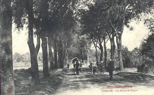 Đường Nguyễn Trãi xưa nối trung tâm thành phố với chợ Lớn.