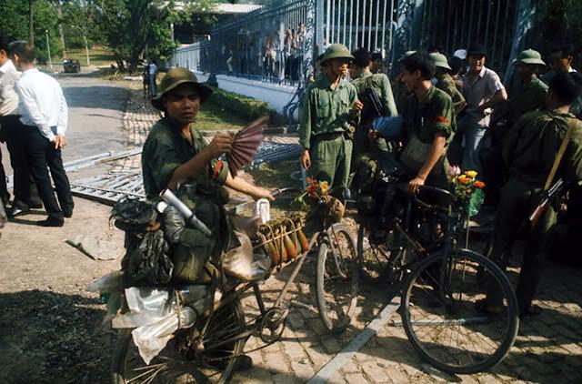 Hình ảnh quân giải phóng tại thời điểm tháng 4/1975.