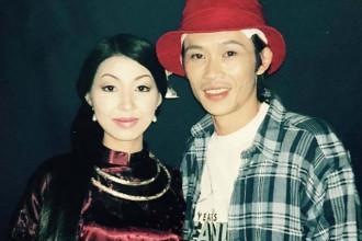 Ca si Ha My va danh hai Hoai Linh (1)