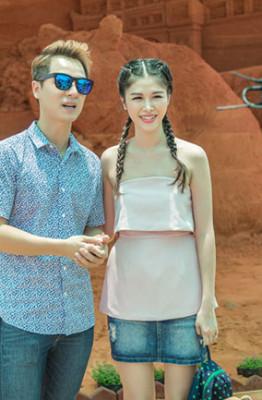 Gia dinh Dang Khoi, Thuy Anh hao hung trai nghiem Cong vien tuong cat24