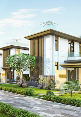 Hinh 1 - Phoi canh biet thu Cam Ranh Mystery Villas