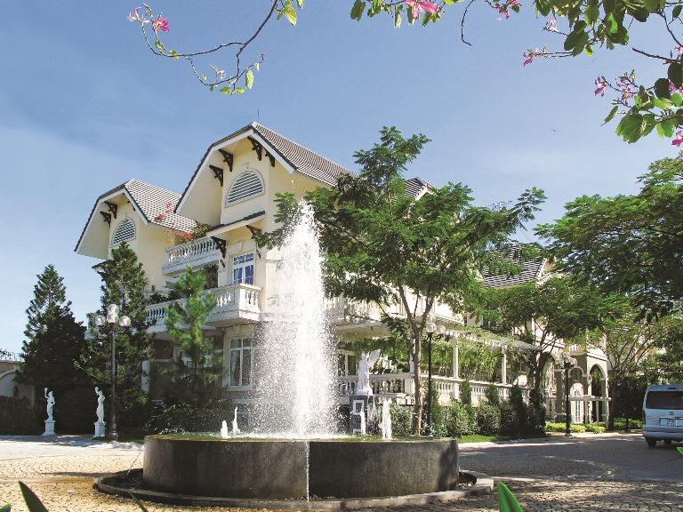 Hinh 3 - Mot goc Khu biet thu Kim Long - Dragon city