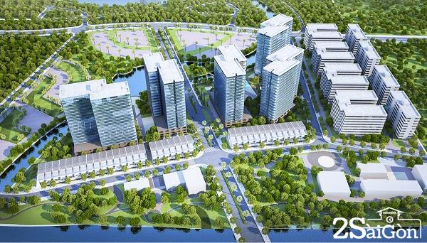 Mizuki Park có quy mô 26 ha gồm: 4.676 căn hộ biệt lập Flora, 170 đất nền nhà phố và biệt thự Valora. Dự án còn có hồ Nguyệt Cung chảy xuyên qua khu đô thị, các phân khu chức năng như khu thể dục thể thao, cụm nhà hàng, khu y tế giáo dục, khu mua sắm, khu sinh hoạt cộng đồng, khu vườn cảnh thiên nhiên, công viên trẻ em..