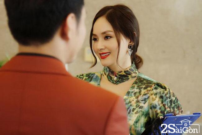 Lan Phuong trong phim An oan tinh doi (1)