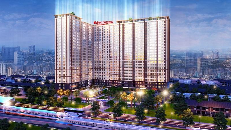 Phối cảnh tổng thể dự án Saigon Gateway