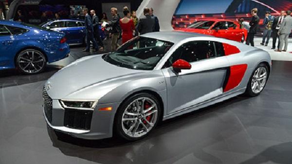 Mẫu xe xuất hiện tại triển lãm New York 2017.
