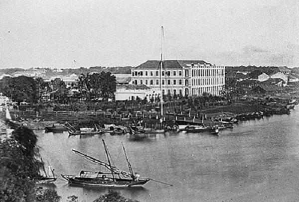 Ngay sau khi chiếm được Nam kỳ, Pháp bắt tay vào việc xây dựng Sài Gòn. Ảnh: Tư liệu