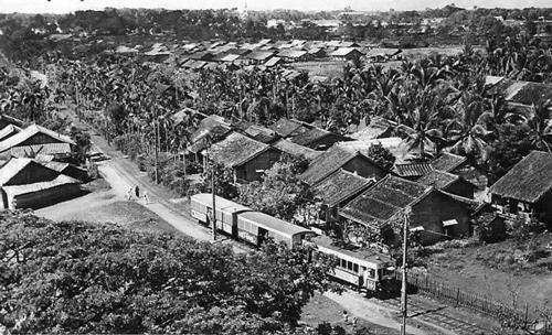 Tuyến xe lửa Sài Gòn - Gò Vấp năm 1910. Ảnh: Tam Thái