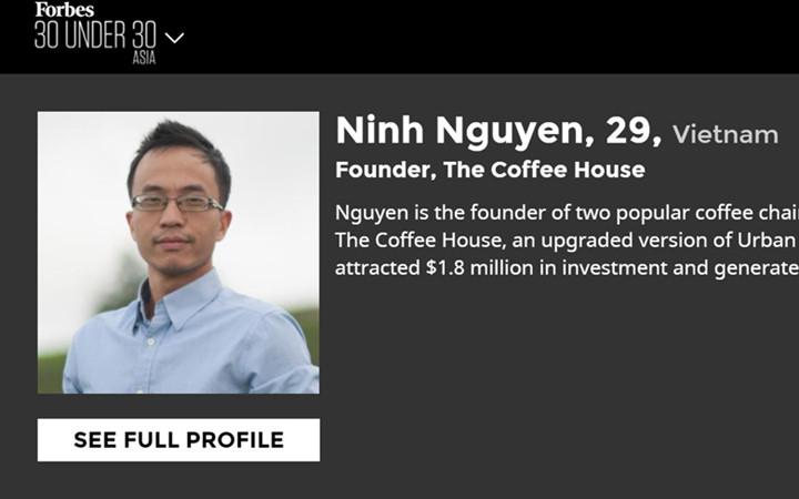 Nguyễn Hải Ninh từng làm tại PepsiCo Việt Nam ở vị trí quản trị viên tập sự trước khi kh